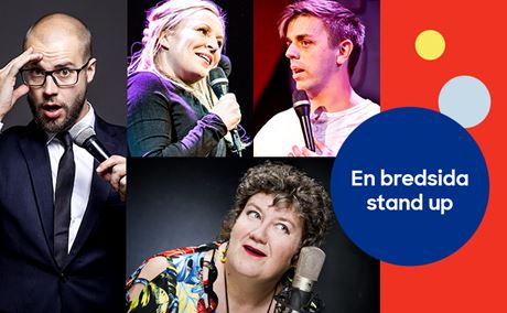 En bredsida stand up på Viking Grace 14.9, 21.9, 28.9, 5.10, 12.10