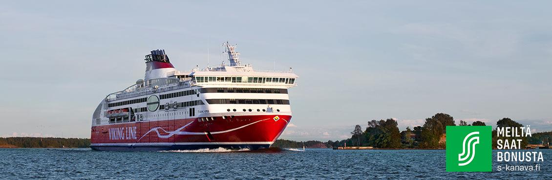 Helsinki–Tallinna - S-Etukortti - Valitse matka | Viking Line
