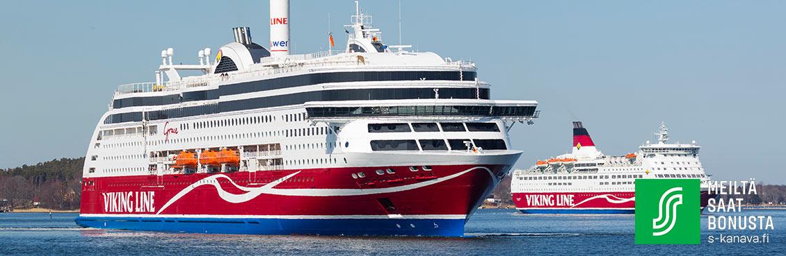 S-Etukortti - Valitse matka | Viking Line